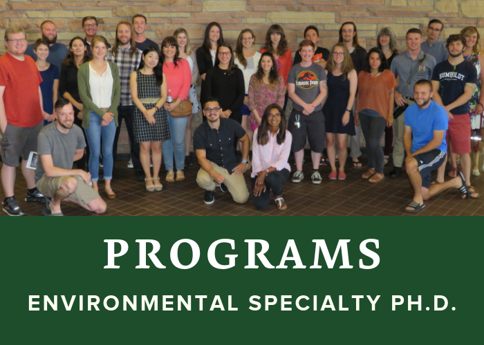 Environmental Specialty Ph.D.