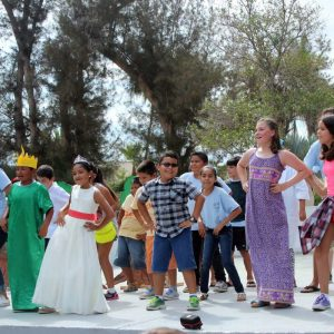 a group of kids puts on a play