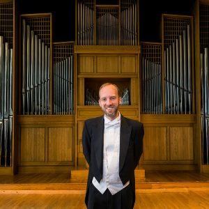 Organ Professor Joel Bacon