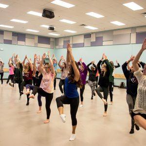 Folk Dance Class at CSU