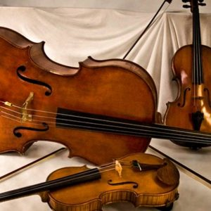 Three string instruments