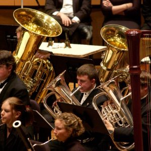 Promotional Photo Concert Band Playing
