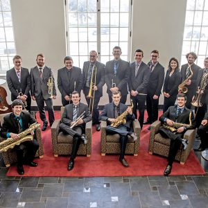 Promotional Group photo of Jazz Ensembles I with Petter Sommer