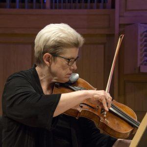 Margaret Miller Playing Viola Promotional Photo