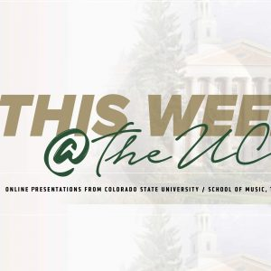 This Week at the UCA promotional graphic
