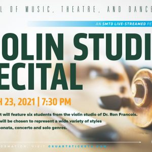 Violin Studio Recital promotional screen