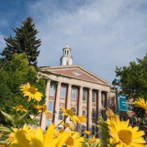University Center for the Arts External Spring Photo