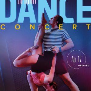 2019 Spring Dance Concert promotional poster