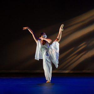 CSU Dance Student pictured