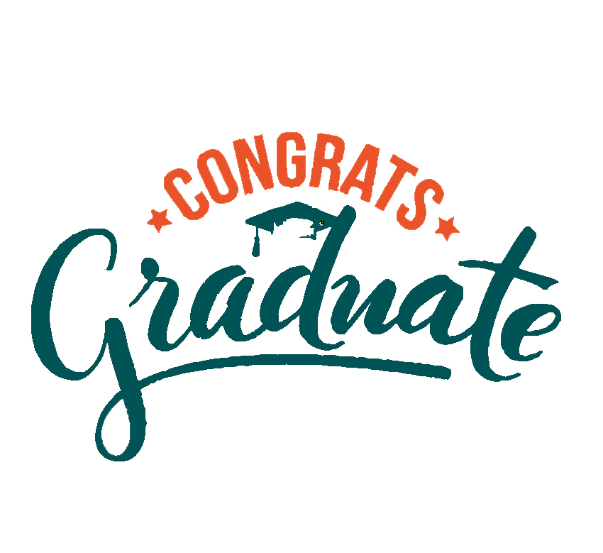 Congrats Graduate graphic