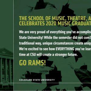 2020 graduation promotional banner