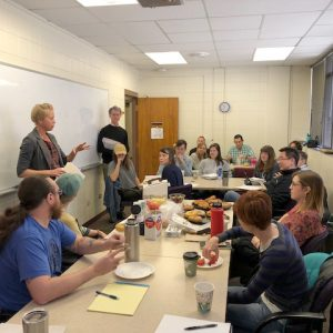Sociology faculty and GTAs discuss controversy and conflict in the classroom