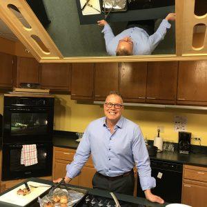 Michael Carolan cooking