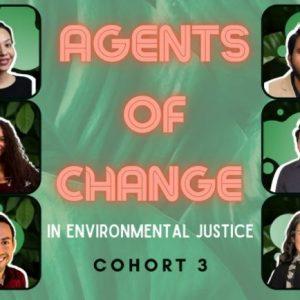 Agents of Change cohort headshots