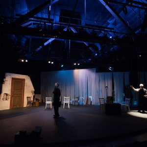 Bas Bleu Theatre Company The Woman in Black 2014 Production Photo
