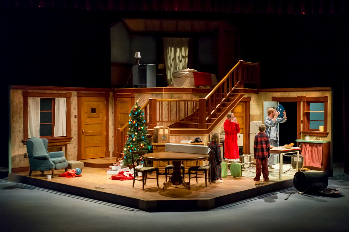 colorado state university theatre presents a christmas story by philip grecian directed by laura jones - When Is A Christmas Story Set