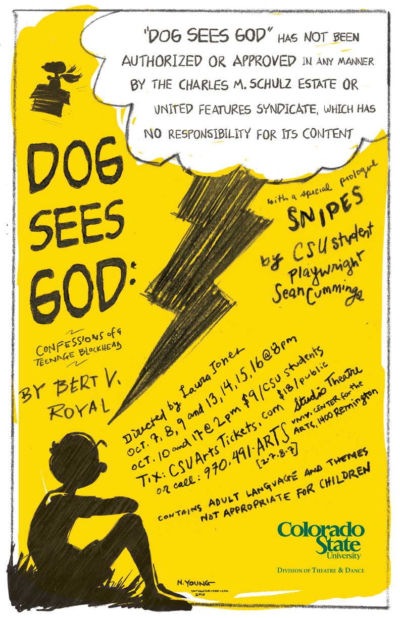 dog sees god study guide The adams state university theatre production dog sees god: confessions of a teenage blockhead  asu graduate student conducts study on cancer and exercise.