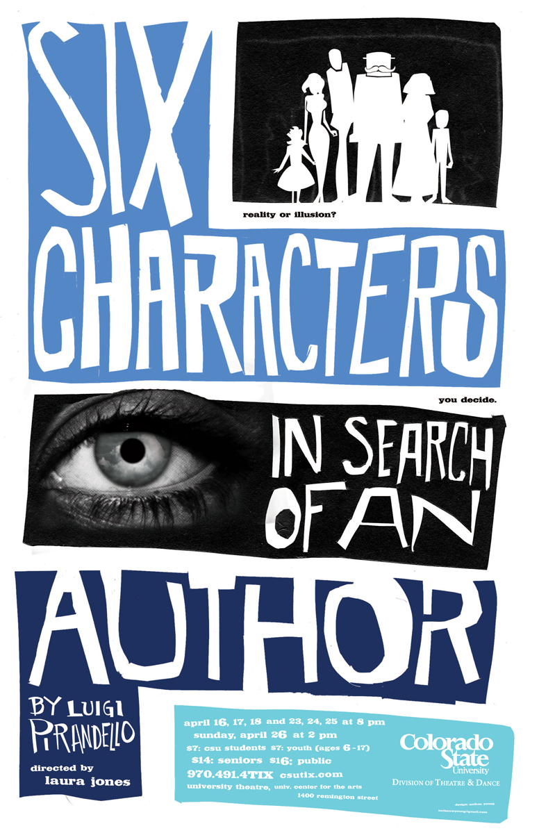luigi pirandellos six characters in search of an author the spectacle of illusion and reality on sta Sei personaggi in cerca d'autore=six characters in search of an author, luigi literature fiction or reality is it the creation of the author or the author.