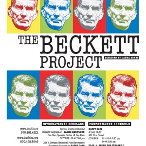 The Beckett Project 2008 Promotional Poster