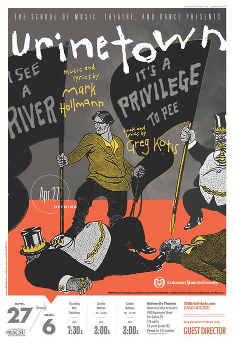 Urinetown, The Musical by Greg Kotis
