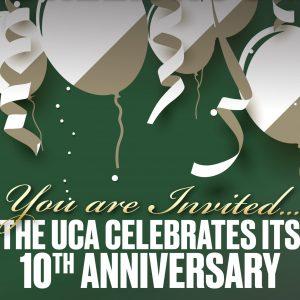 UCA 10th anniversary graphic
