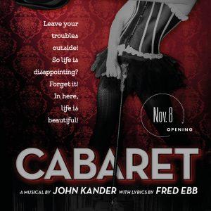 Cabaret 2019-20 Promotional Poster