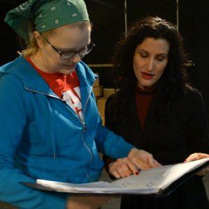 Saffron Henke directs comedian Megan Gogerty in Lady Macbeth and Her Pal, Megan