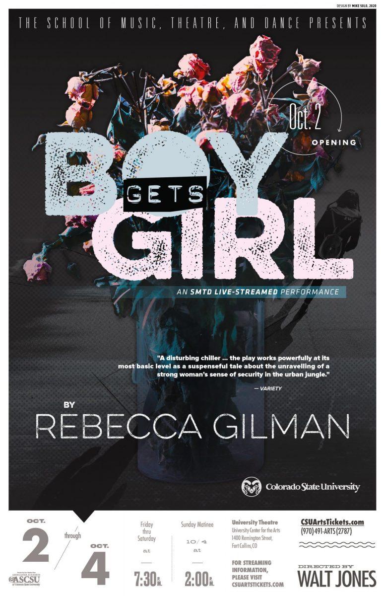 LIVESTREAM: Boy Gets Girl by Rebecca Gilman, directed by Walt Jones