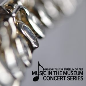 Music in the Museum promotional graphic