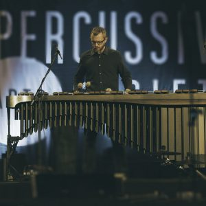 Eric Willie playing marimba