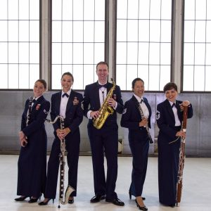 Air Force Polaris Winds Reed Quintet