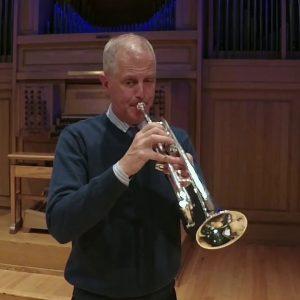 Stanley Curtis Playing Trumpet