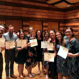 Kodaly 2020 Summer Session Students pictured