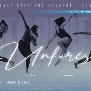 2021 Spring Dance Capstone promotional screen