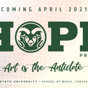 2021 Spring SMTD HOPE Project promotional screen
