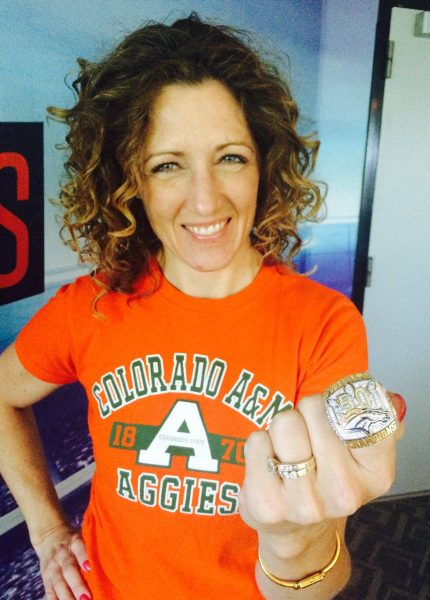 Communication Studies alumna Susie Wargin works as a real estate agent and sportscaster for Denver Sports 760.