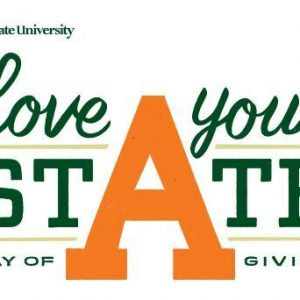 Colorado State University - love your state - Day of Giving logo