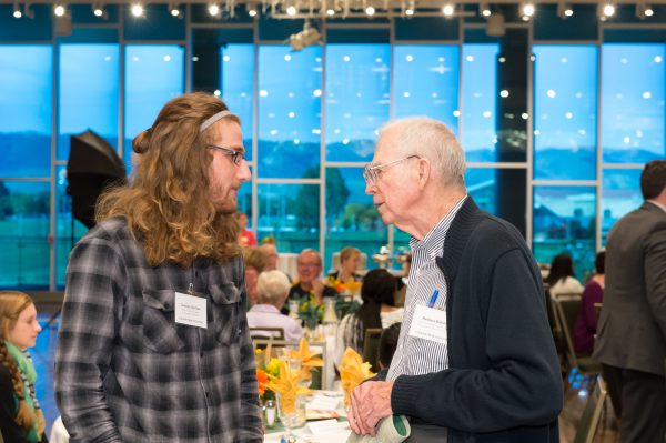 Colorado State University students and donor generosity are celebrated at the College of Liberal Arts Donor Brunch, October 10, 2015.