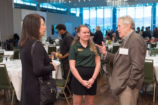 The College of Liberal Arts celebrates scholarship donors and students at its 2017 Donor Brunch