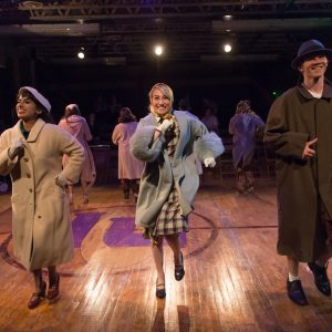 Theatre students at CSU on stage performing Reefer Madness