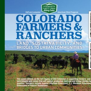 Colorado Farmers and Ranchers presentation on Oct 5, 2017