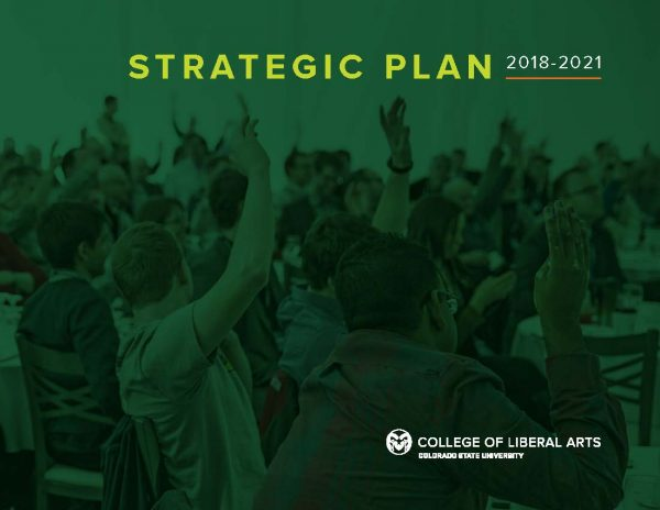 College of Liberal Arts Strategic Plan cover photo
