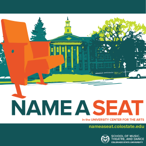 Support student scholarship in the School of Music, Theatre, and Dance by naming a seat in the UCA