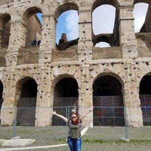 Carina Solis in Rome