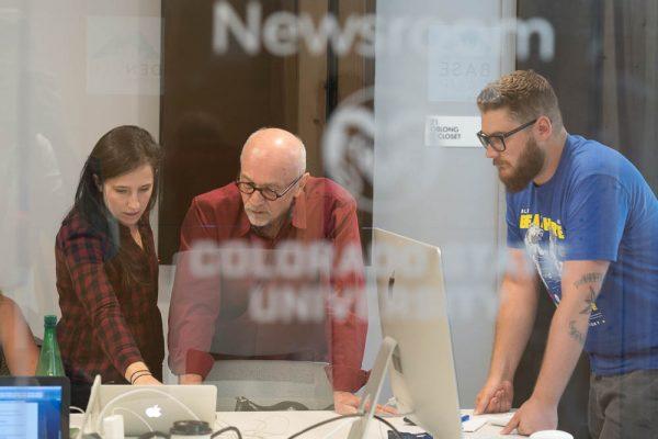 CSU set up a mobile newsroom to cover Denver Startup Week