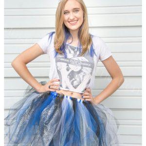 Megan Robertson in a tutu