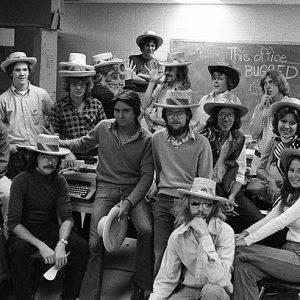 David Freed 1976 Collegian Staff