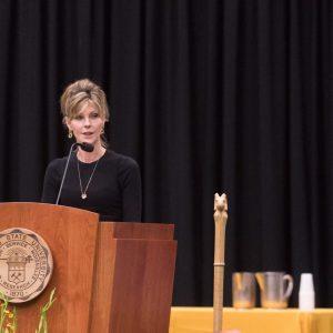 Robbie Myers speech at CSU.