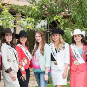 Rodeo women with Chelsea
