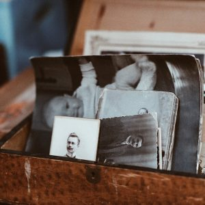 Box of historical photos